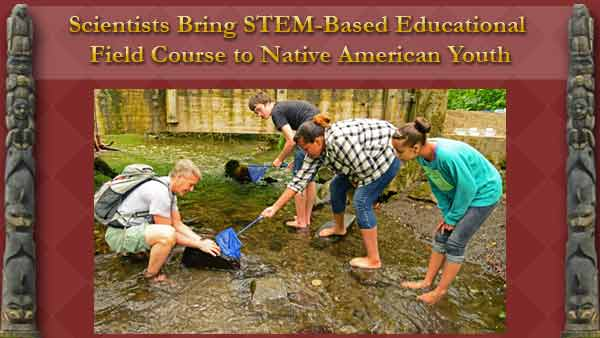 Randy Kyes conducts annual educational field course with Native American Youth.
